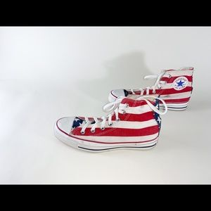 Vintage Converse flag stripes stars 5.5 7.5